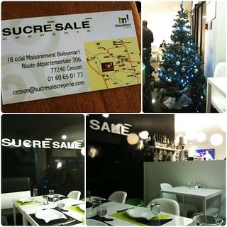 Restaurant Sucré Salé, Cesson : Le cadre
