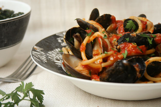 mussels fra diavolo 5