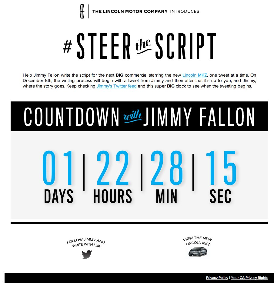 #steerthescript by Lincoln