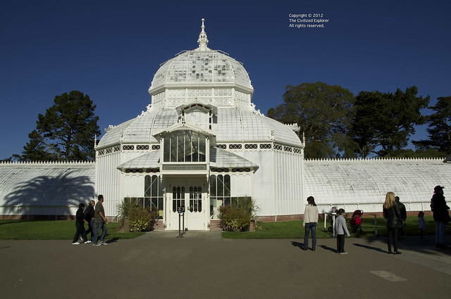 The San Francisco Conservatory of Flowers