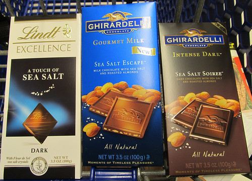 Salt Enhanced Chocolate