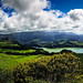 Cloudy Panorama of the Lagoa das Furnas (Municipality of Povoação, Island of São Miguel, Açores, Portugal) [Explored 2012-12-05] by Michael Mehl