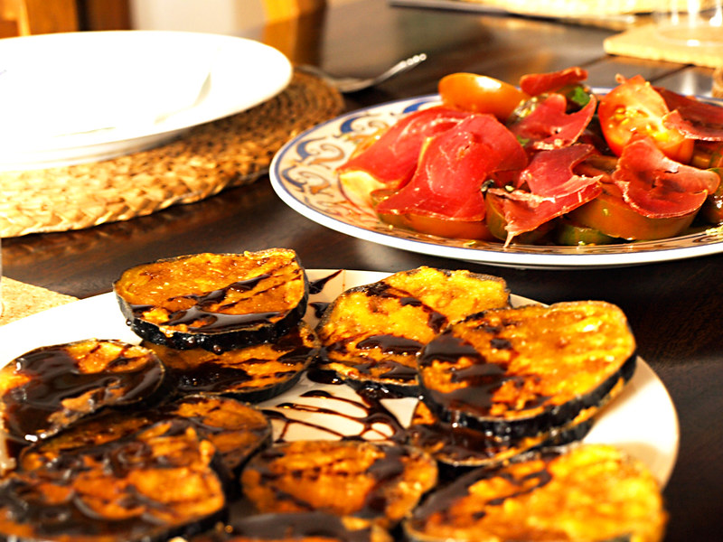 Tapas at las Chimeneas, Andalucia