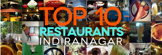 Top 10 restaurants in Indiranagar