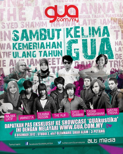 Najwa Latif & Tasha Manshahar Perform di Showcase GUAkustika