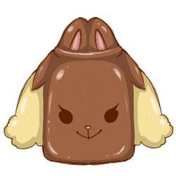 很可愛~~~////艸/// 糖罐(長耳兔款) (4/12/2012)