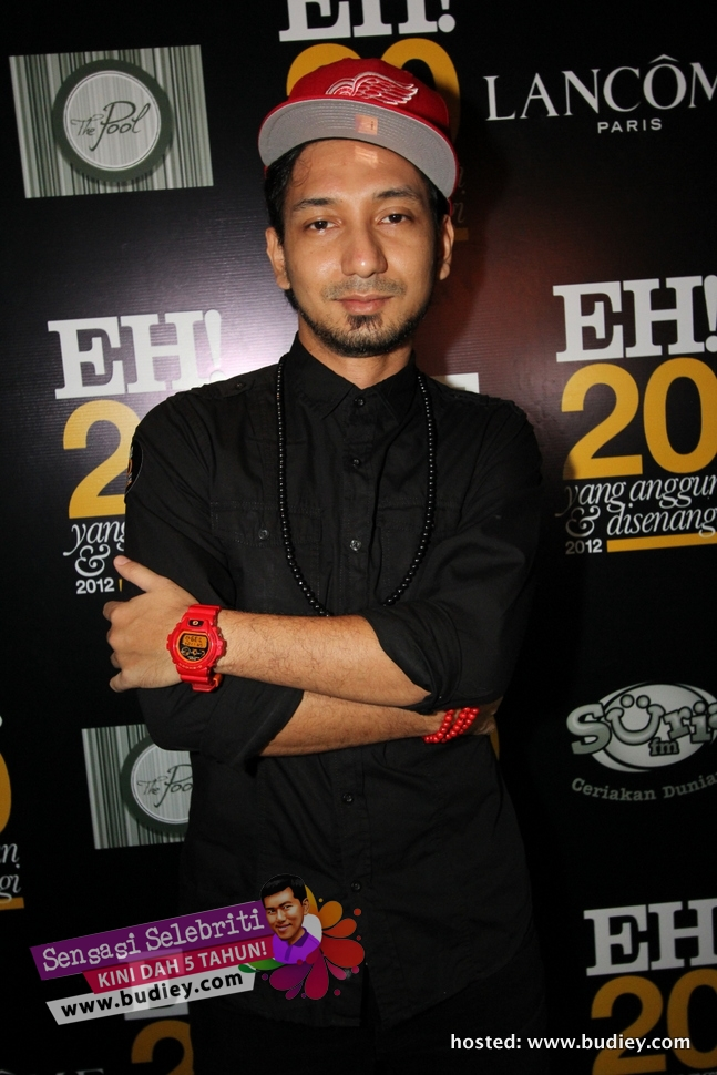 ZIzan Razak di Party EH 2012