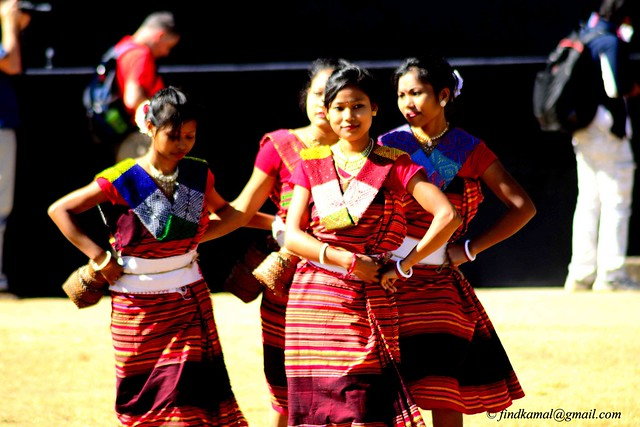 Traditional dance performed by Hajong tribe
