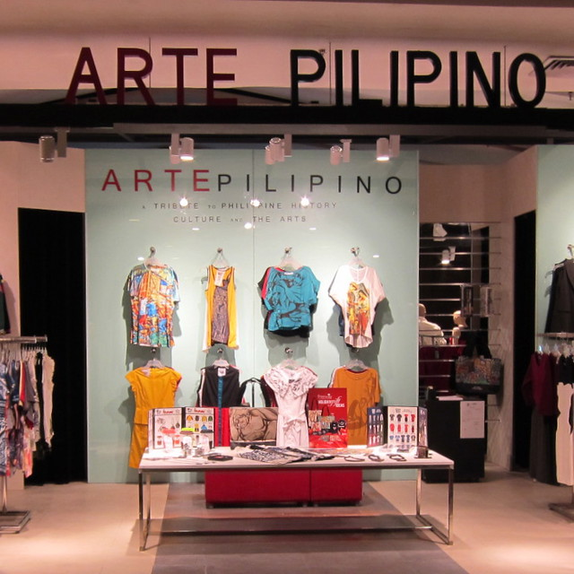 Arte Pilipino Pop Up Store Rockwell