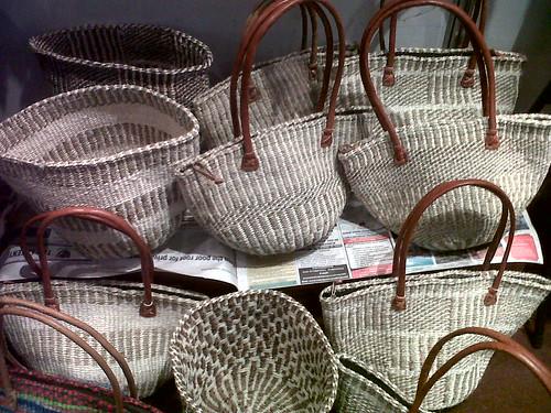Save the children handmade Hyacinth baskets at the Sarit Fair