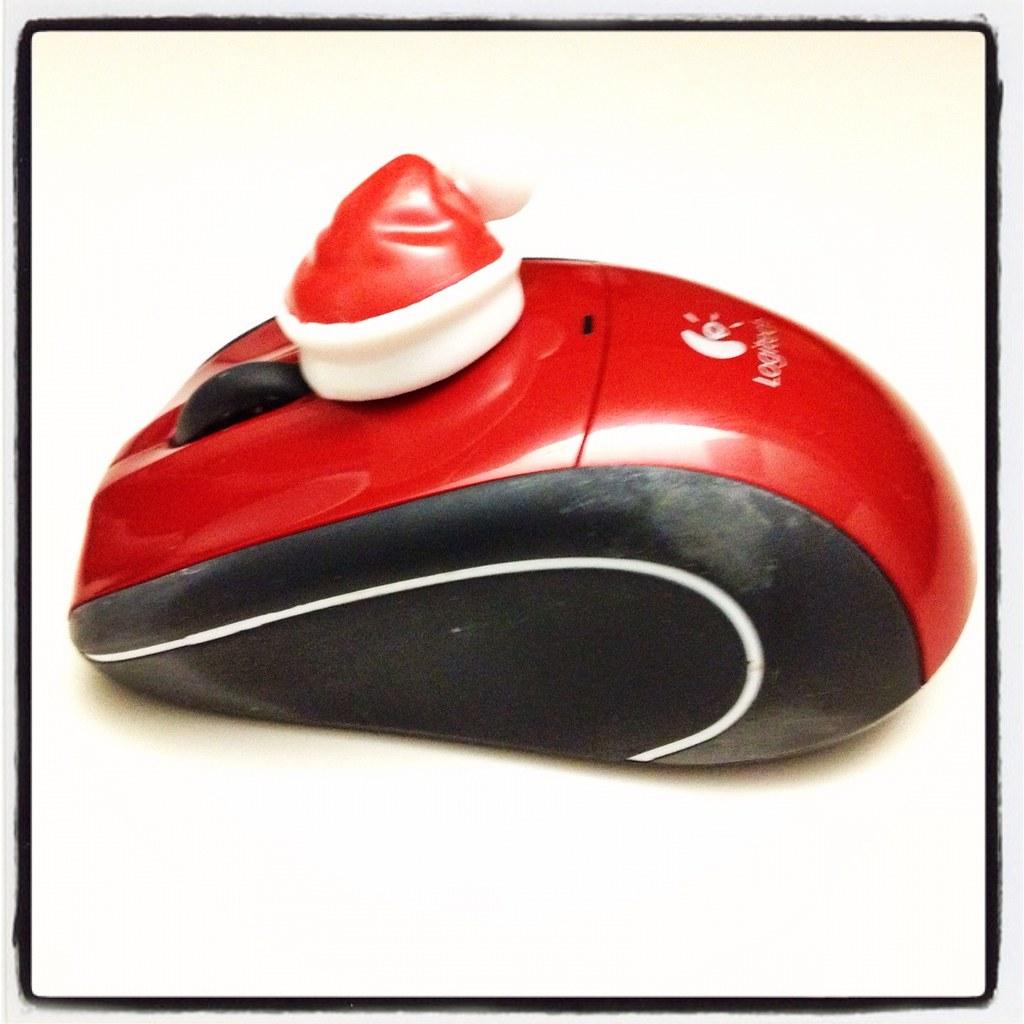 Mouse Santa Hat