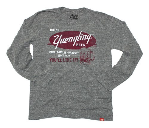 Yuengling Long Sleeve Shirt - Gray