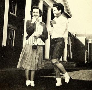 Cutest, Senior Superlatives, Fayetteville High School,1952
