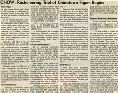 Chinatown Boss - or Do-Gooder?: Racketeering trial opens (2 of 2)