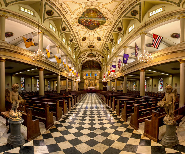 St Louis Cathedral Interior Flickr Photo Sharing