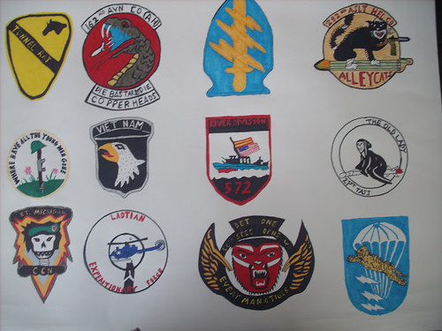 VIETNAM patches by TBONE