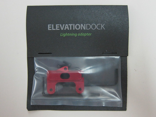 Elevation Dock with Lightning Adapter - Packaging Front
