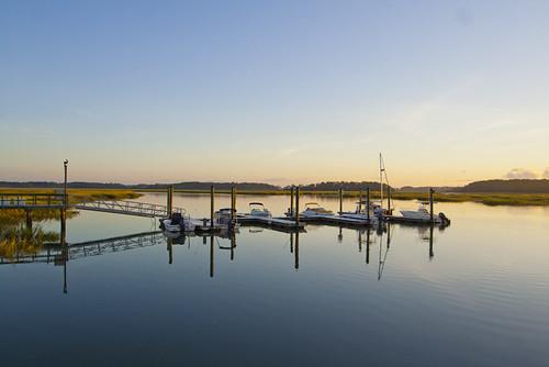 marina golf boating hiltonhead sanctuary naturepreserve privatecommunity mosscreek