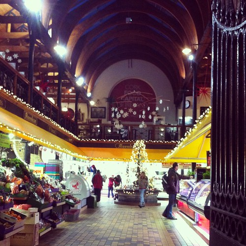 #Irish #Christmas magic at #Cork's English Market #IrishChristmas