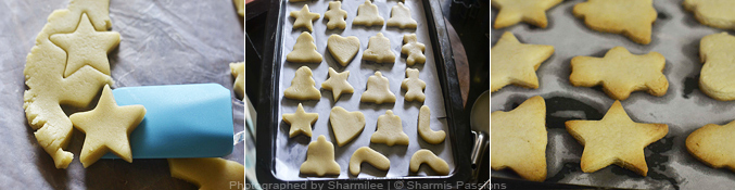 Eggless Sugar Cookies(with royal icing) - Step4