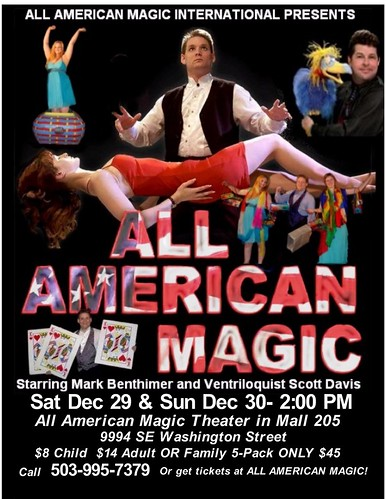 All-American Magic Show @ Mall 205