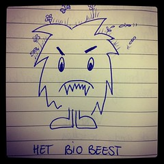 Aaargh, there it comes! Het BioBeest! #biobased #np2020