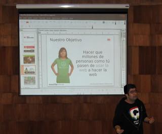 Mozilla Webmaker en la UJAP 2012