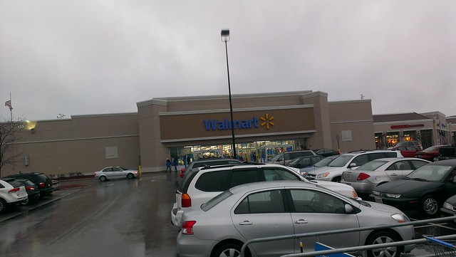 Wal Mart Vernon Hills Chicago Illinois Storefront