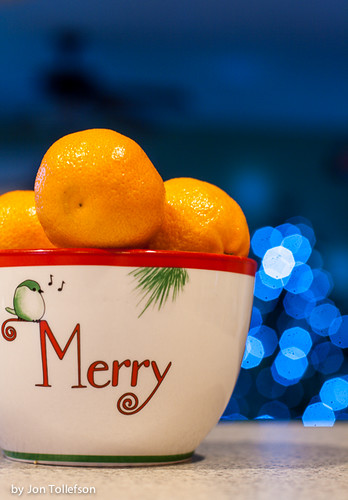 Orange You Glad it is Christmas Time.