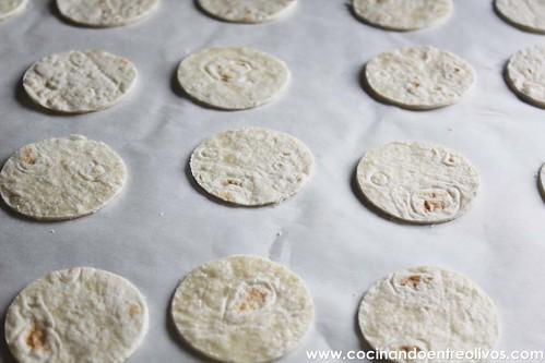 Minipizzas crujientes con queso cocina President (4)