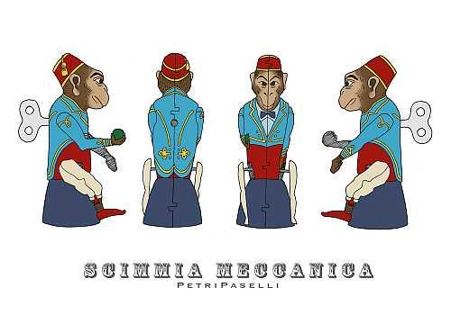 scimmia meccanica