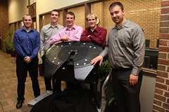 Composite Fifth Wheel team with project