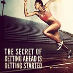 The secret of getting ahead is getting started. Tribesports.com #tribesports #sprint #running #runningram #run #fit #fitness #exercise #workout #inspiration #motivation #fitspo