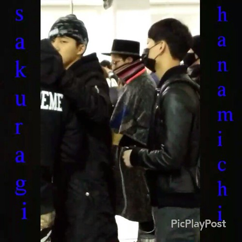 Big Bang - Kansai Airport - 15jan2015 - G-Dragon - sakuragi_haramichi - 01