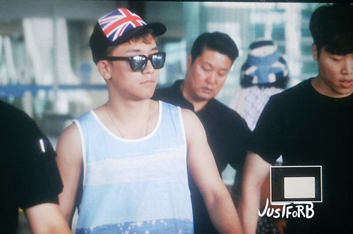 Seung Ri - Incheon Airport - 02aug2015 - Just_for_BB - 06