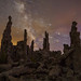 Star Trails Over Mono Lake Tufa by Jeffrey Sullivan