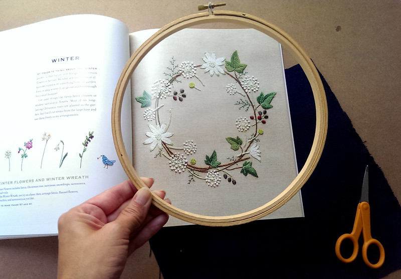 Planning a book review for Feeling Stitchy