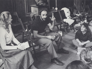 Professor Martha Andresen takes students to meet Academy Award-winning actor F. Murray Abraham in fall 1990