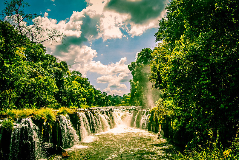 Bolaven Plateau Waterfall