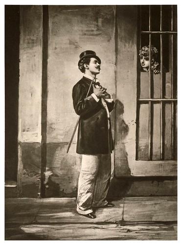 013- El amante de ventana-Tipos y costumbres de la isla de Cuba…1881-Victor P. Landaluze