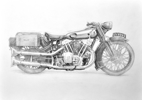 Brough Superior by Colin Murdoch Studio