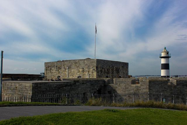 El Castillo de Southsea en Portsmouth