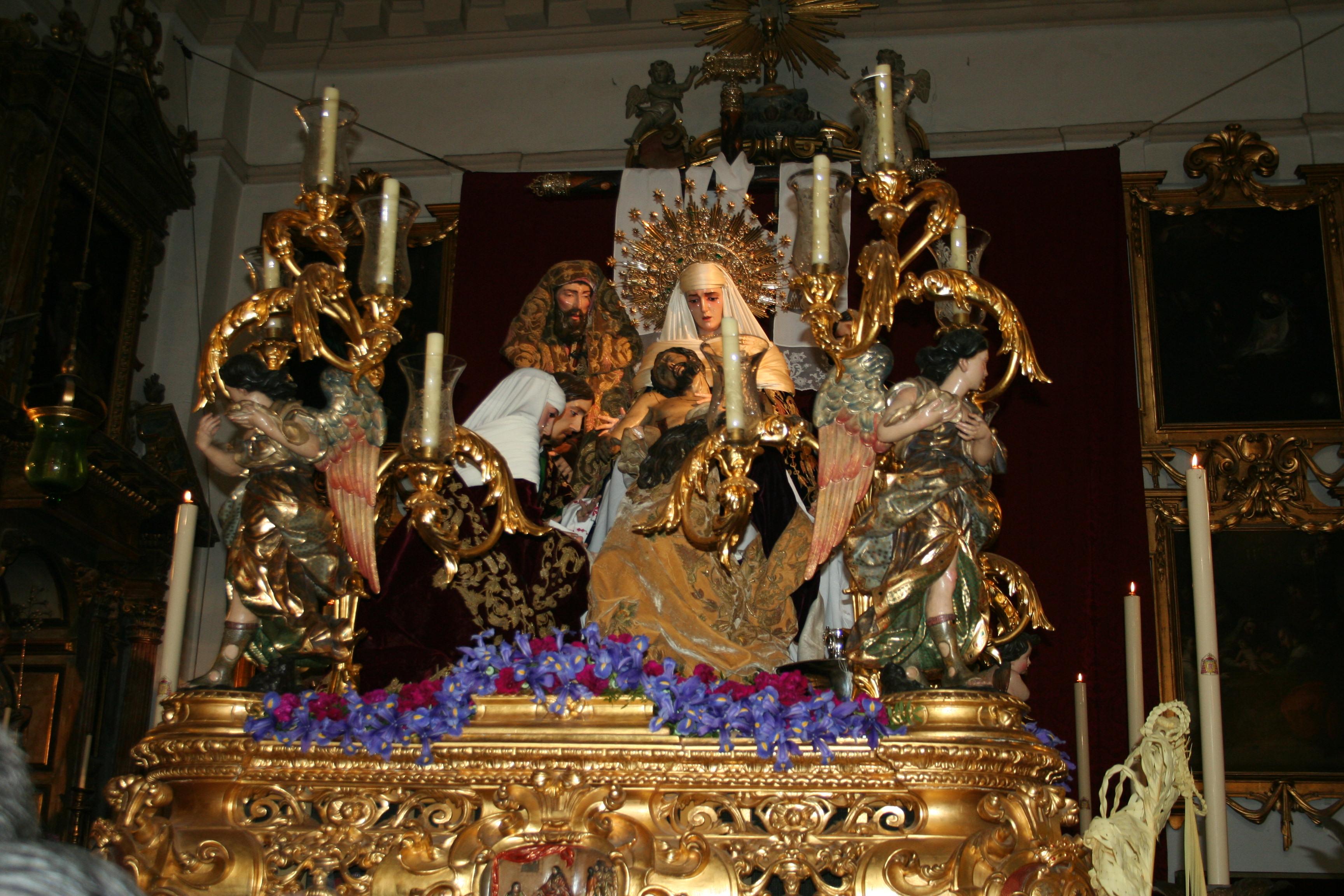 Hermandad de la Sagrada Mortaja de Sevilla, 2012