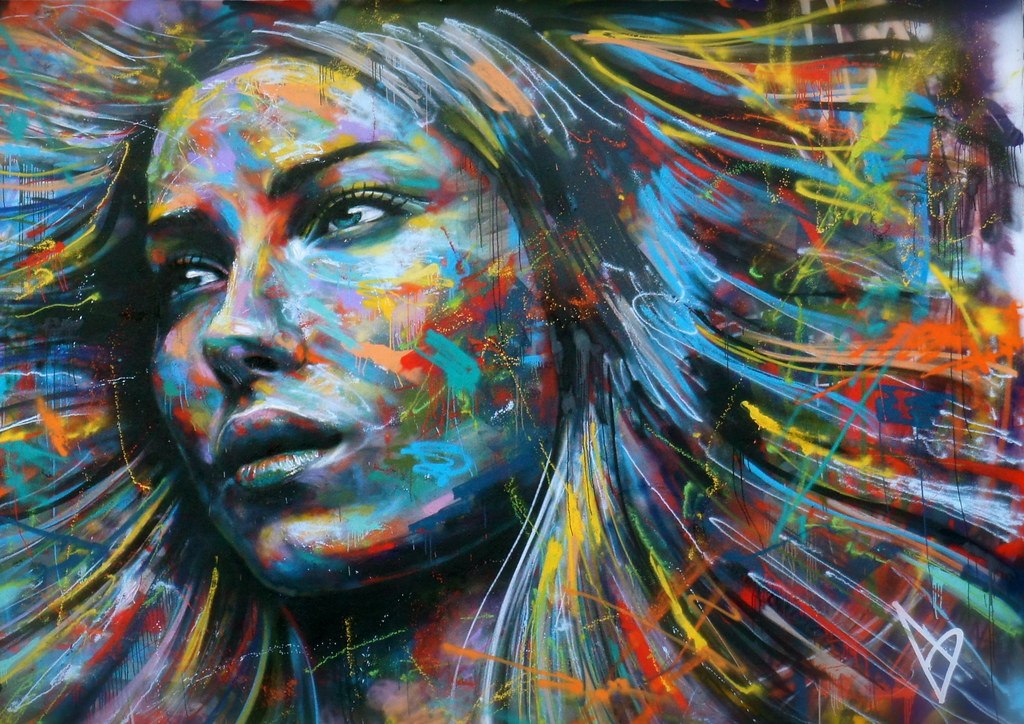 The Beautiful Street Art of David Walker