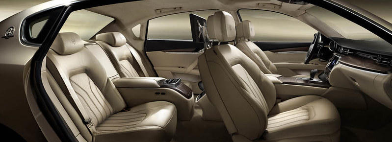 new 2013 Maserati Quattroporte Interior