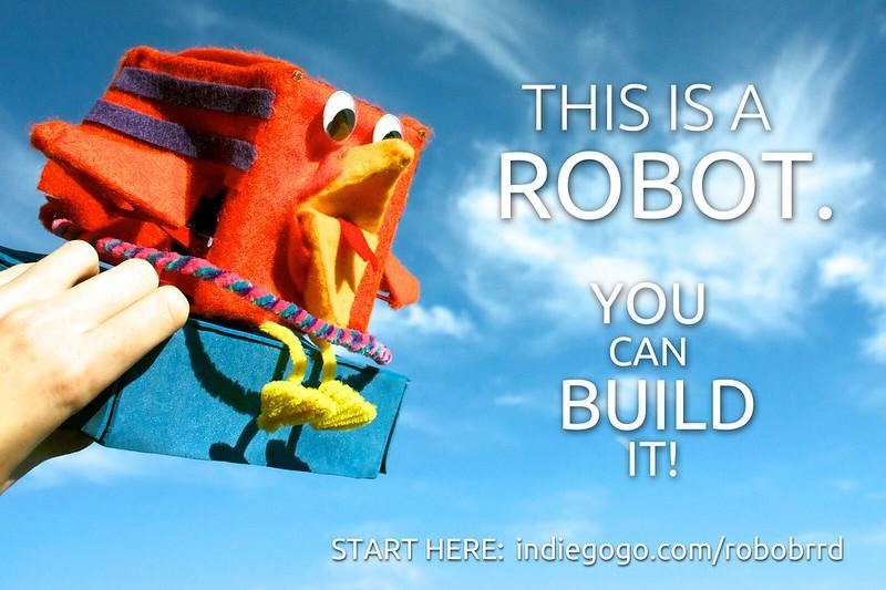 You can build a RoboBrrd!