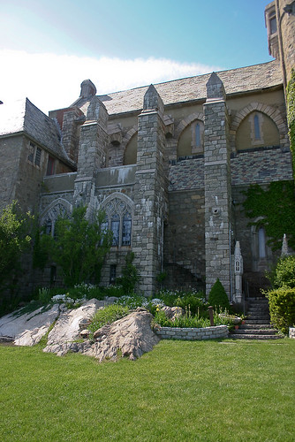 Lawn at Hammond Castle
