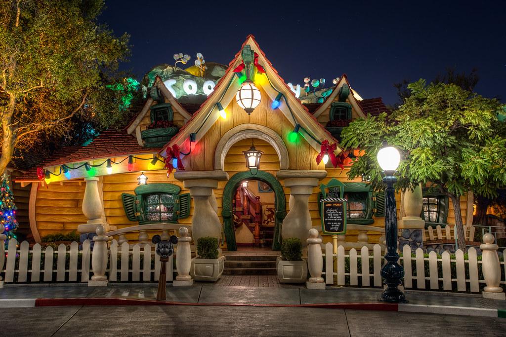 It's Already Christmas at Mickey's House