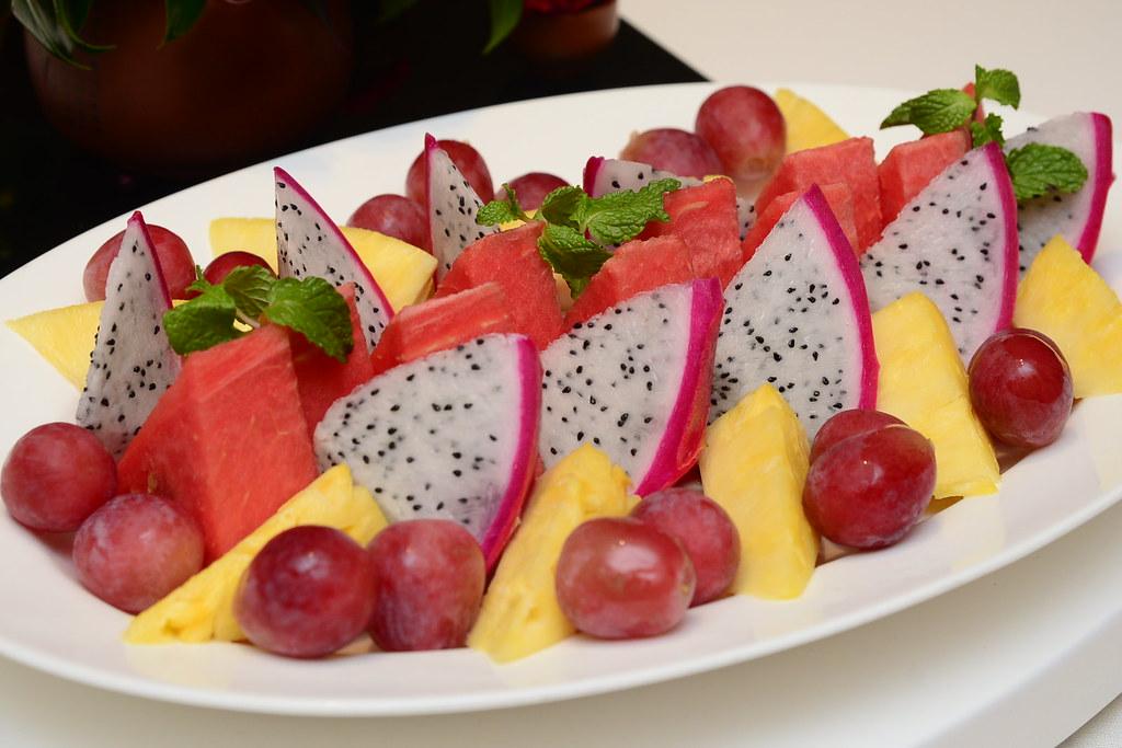 台北君悅正宗寧波料理 - 餐後水果