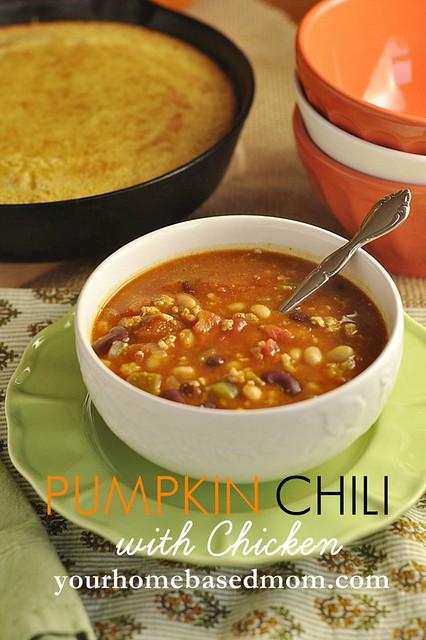 Pumpkin Chili with Chicken